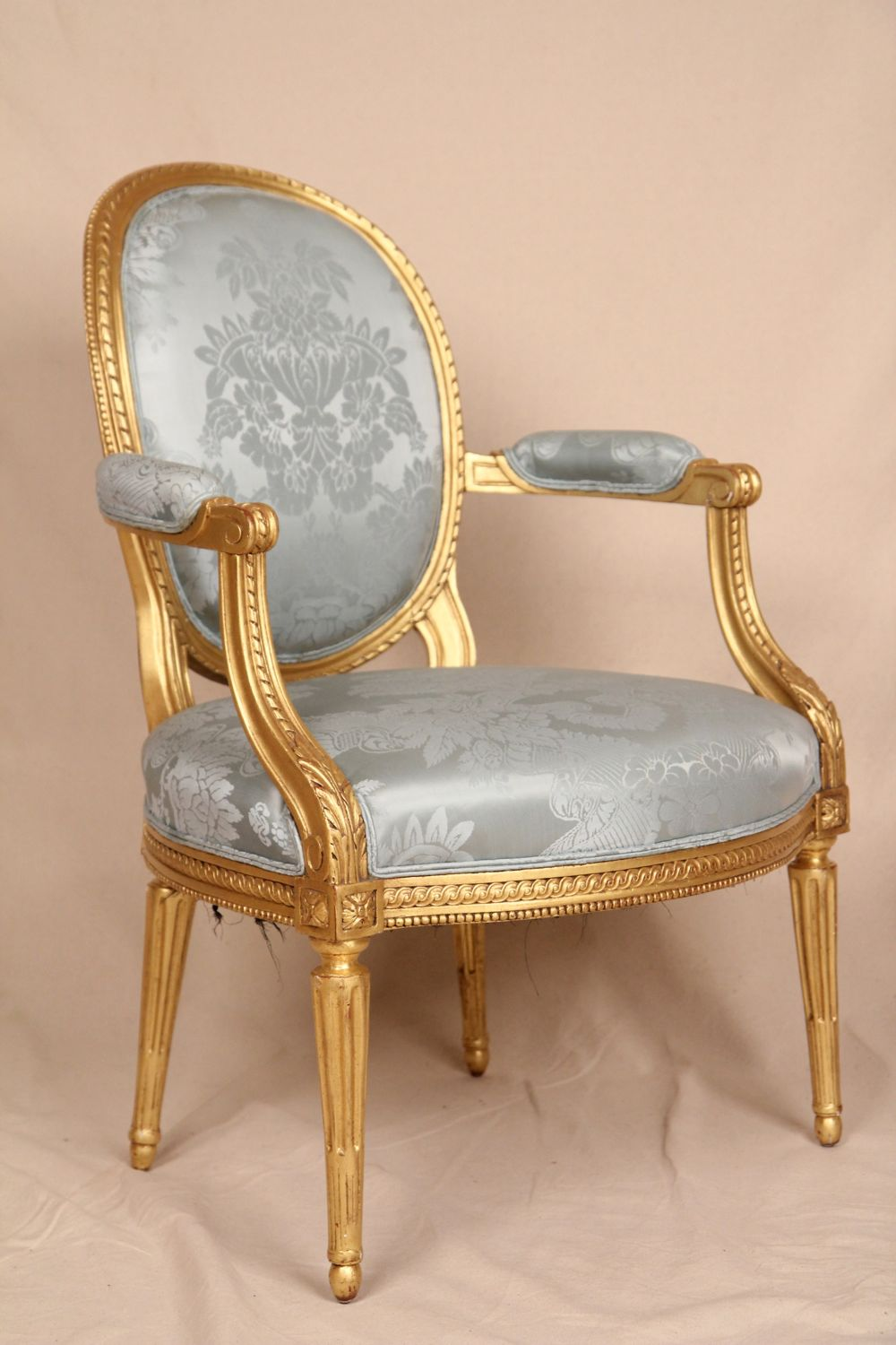 fine early 19th century gilded french louis xvi antique. Black Bedroom Furniture Sets. Home Design Ideas
