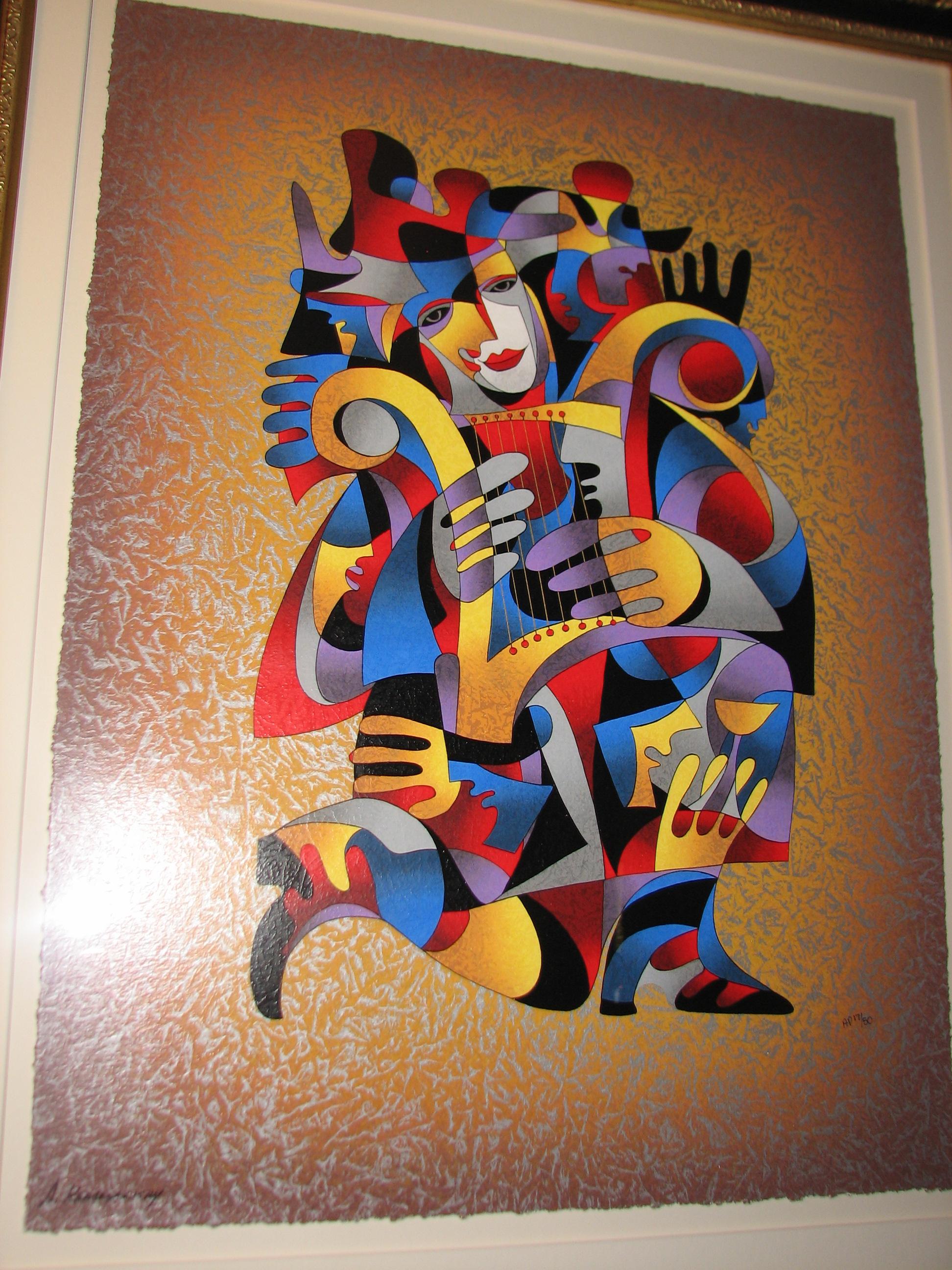 Harp Dream By Anatole Krasnyansky For Sale Antiques Com