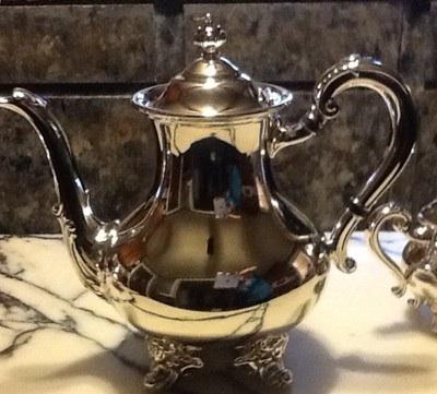 SOLD...Antique Reed and Barton Tea Set, Regent 5600 For Sale ...
