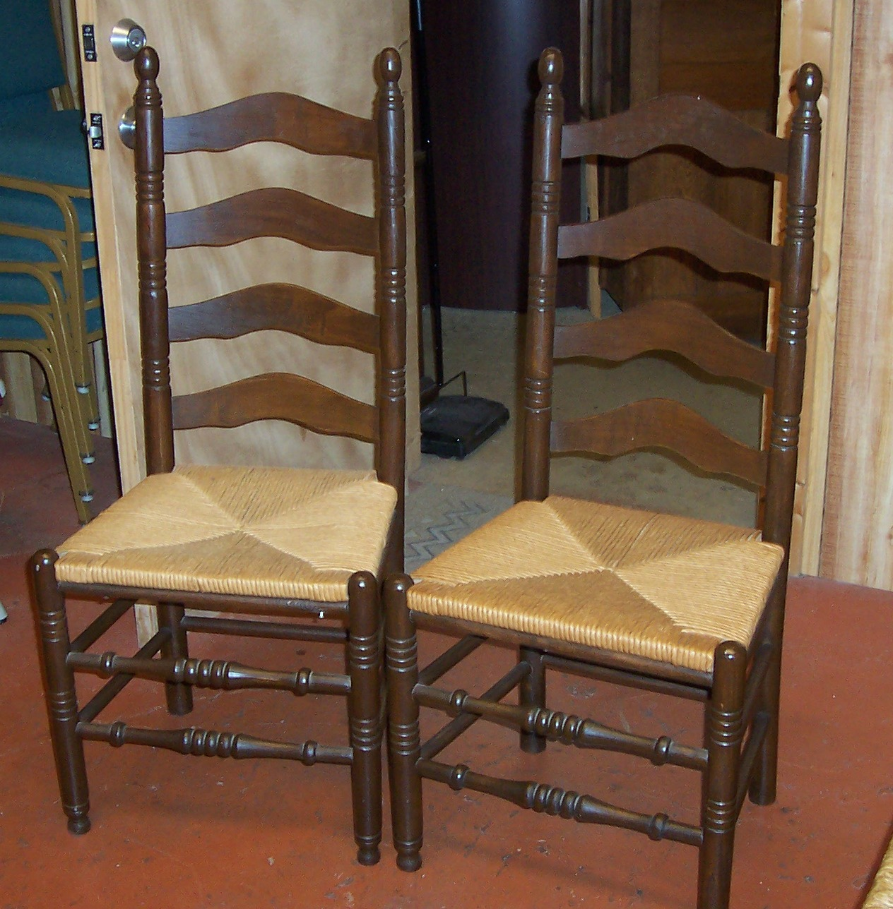 - Ladderback Chairs - Set Of 2 For Sale Antiques.com Classifieds