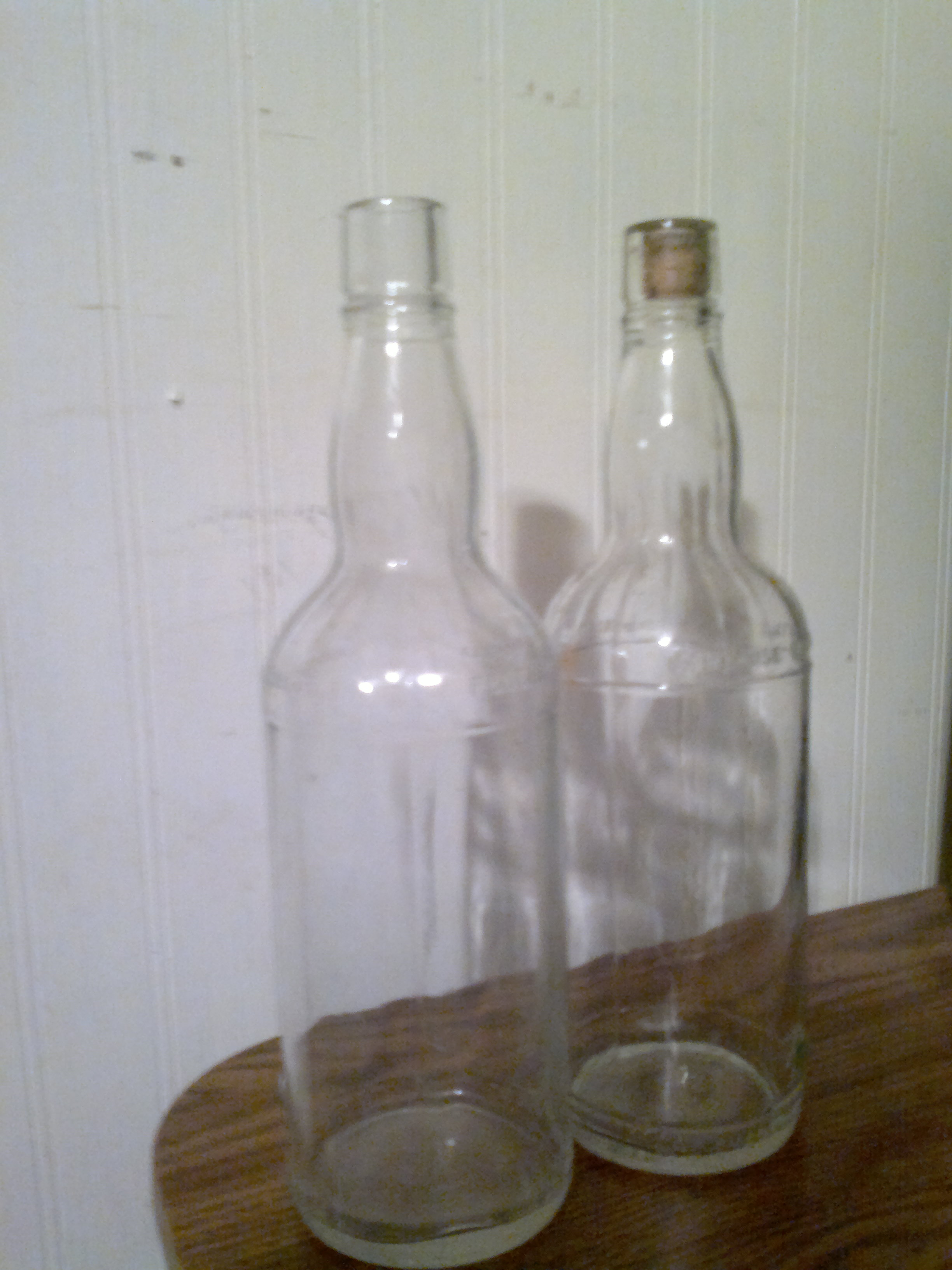 clear glass bottles for sale classifieds