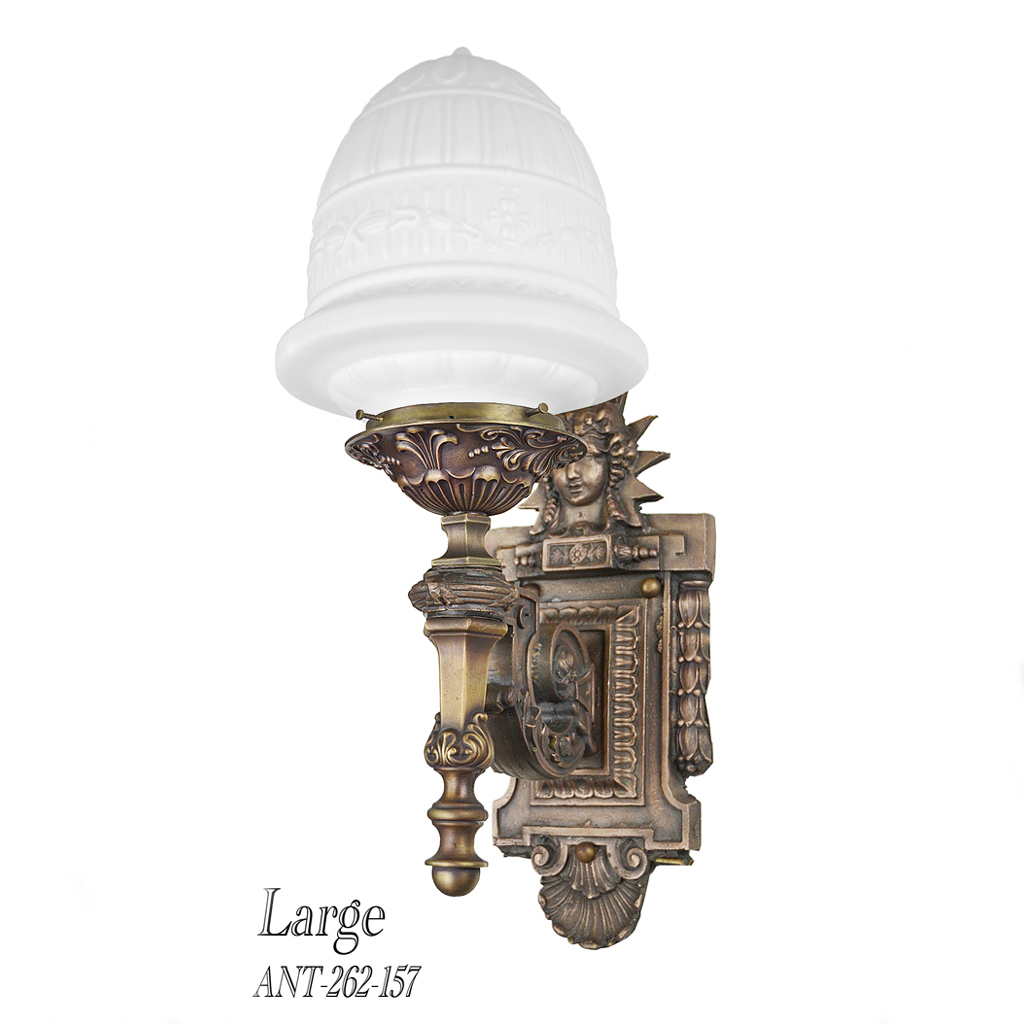 Porch Light Appraisal: Architectural Bronze Outdoor Sconces (ANT-262-157) For