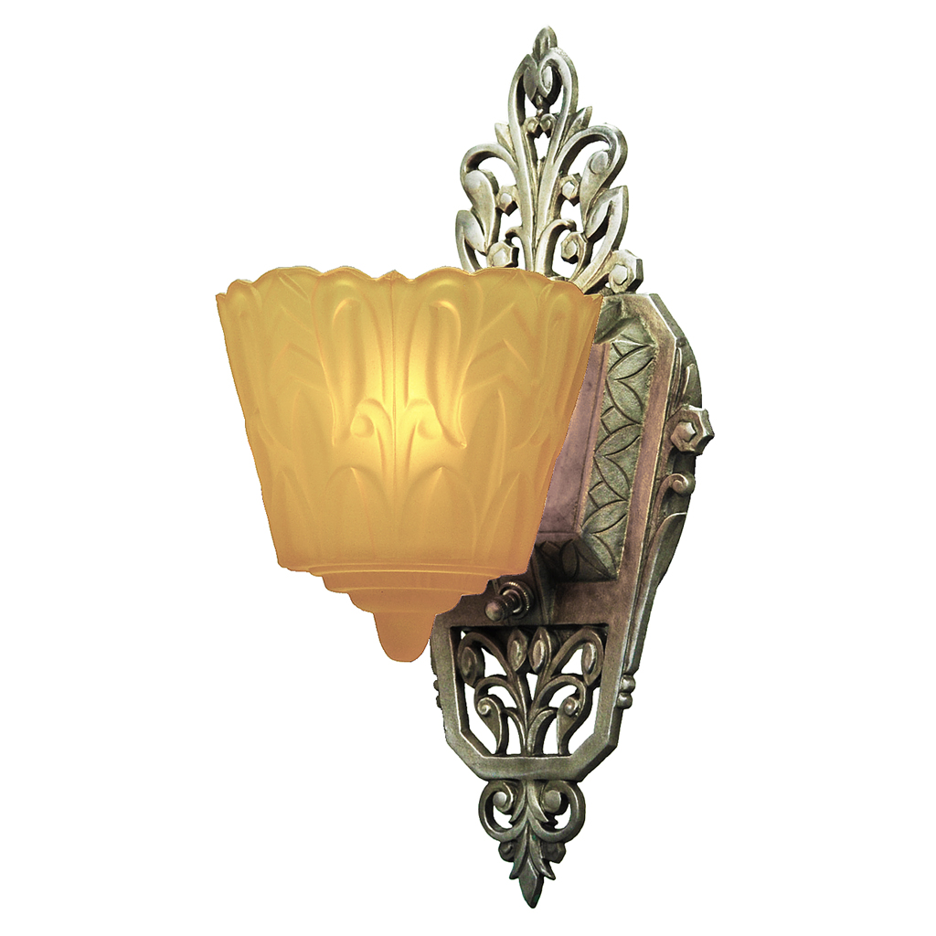 Art Deco Slip Shade Wall Sconces : Art Deco Original Set of 4 Slip Shade Wall Sconces Lights by Lincoln (ANT-516) For Sale ...
