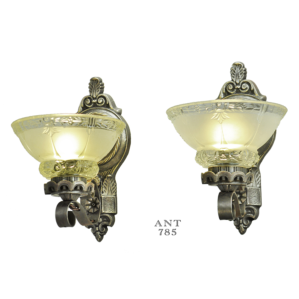 Antique wall sconce lighting fixtures antique wall for Old looking light fixtures
