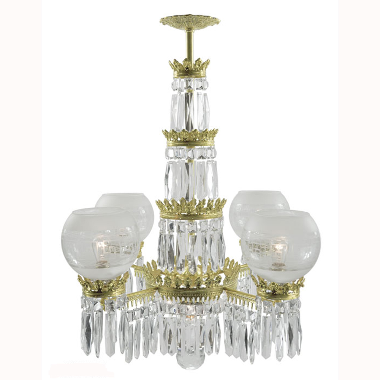 Antique original crystal gasolier style ceiling chandelier lighting antique original crystal gasolier style ceiling chandelier lighting ant 391 for sale aloadofball Images