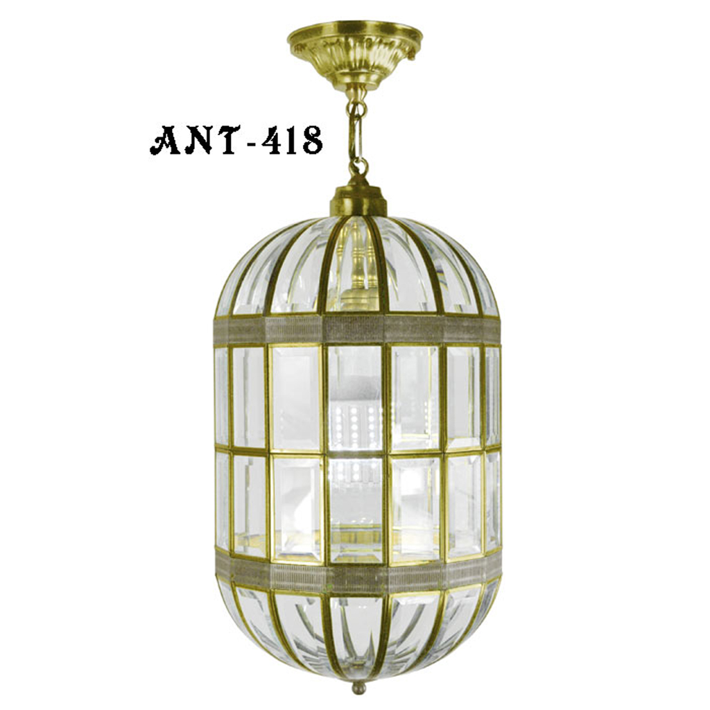 Mid century modern california approved beveled glass for Mid century modern pendant light fixtures