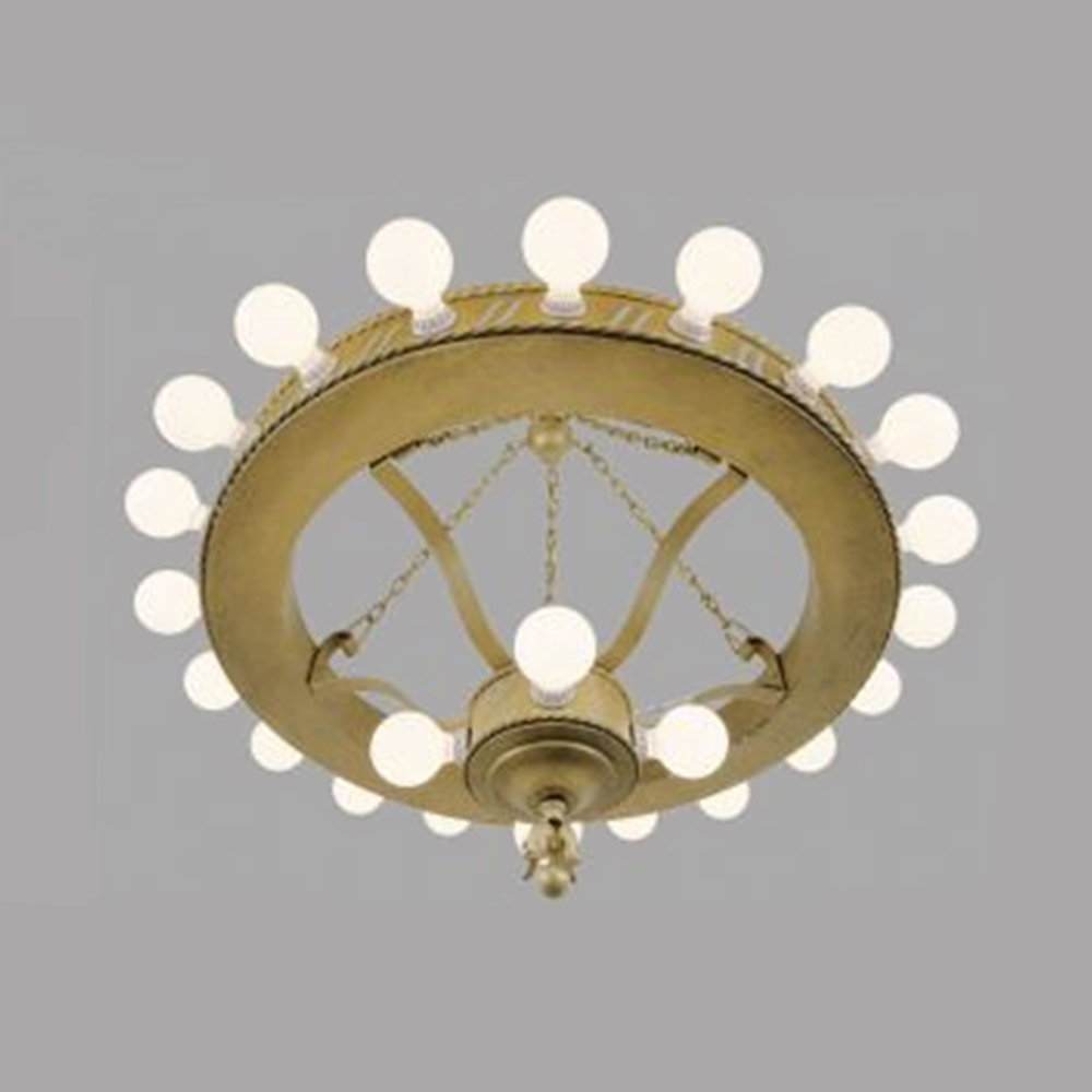 Large bare bulb 1920s chandelier big antique commercial light large bare bulb 1920s chandelier big antique commercial light fixture ant 454 for sale arubaitofo Image collections