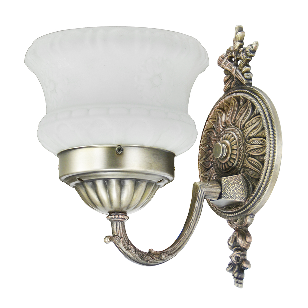 Antique Wall Sconces 1920s Pair Of Edwardian Style Light