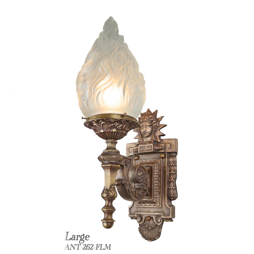Porch Light Appraisal: Architectural Bronze Outdoor Sconces (ANT-262-FLM) For