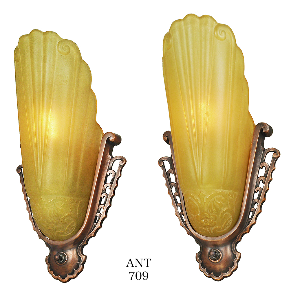 Old Fashioned Art Nouveau Wall Sconce Picture Collection - The Wall ...