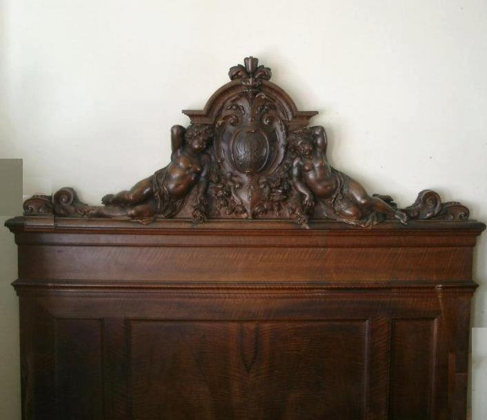 Carved wood headboard belle bohemian zsazsa bellagio