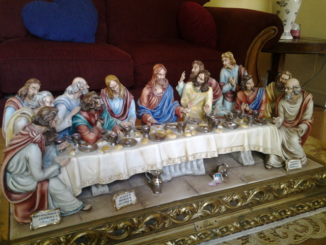 Last Supper By Cordese For Sale Antiques Com Classifieds