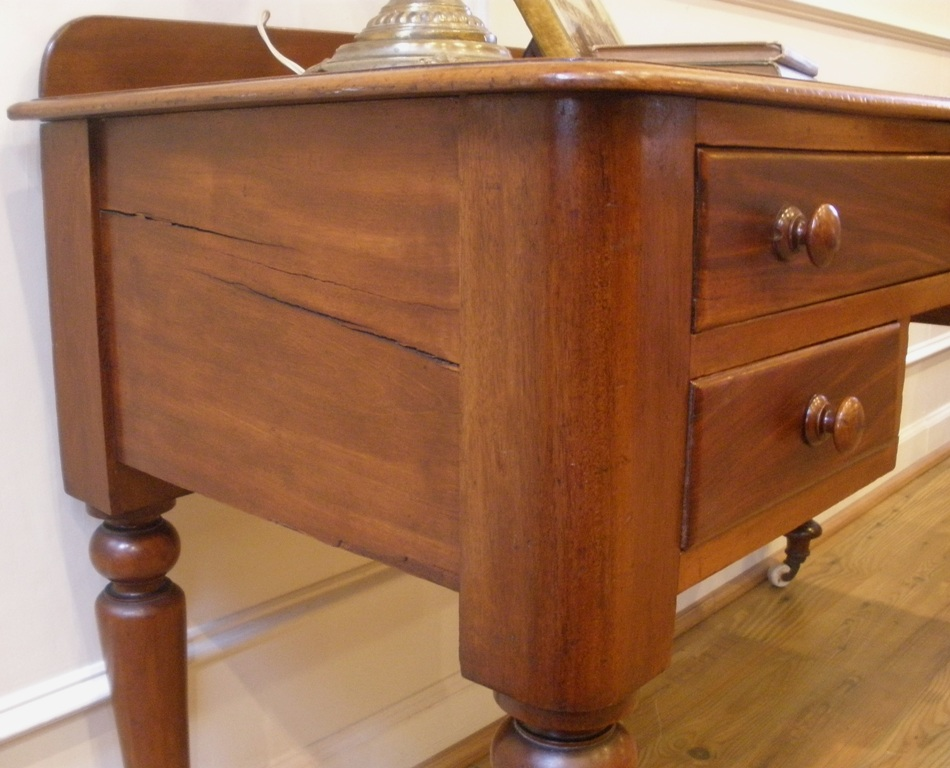 Antique Victorian English Mahogany Desk, Sofa Table, Console. For Sale |  Antiques.com | Classifieds - Antique Victorian English Mahogany Desk, Sofa Table, Console. For
