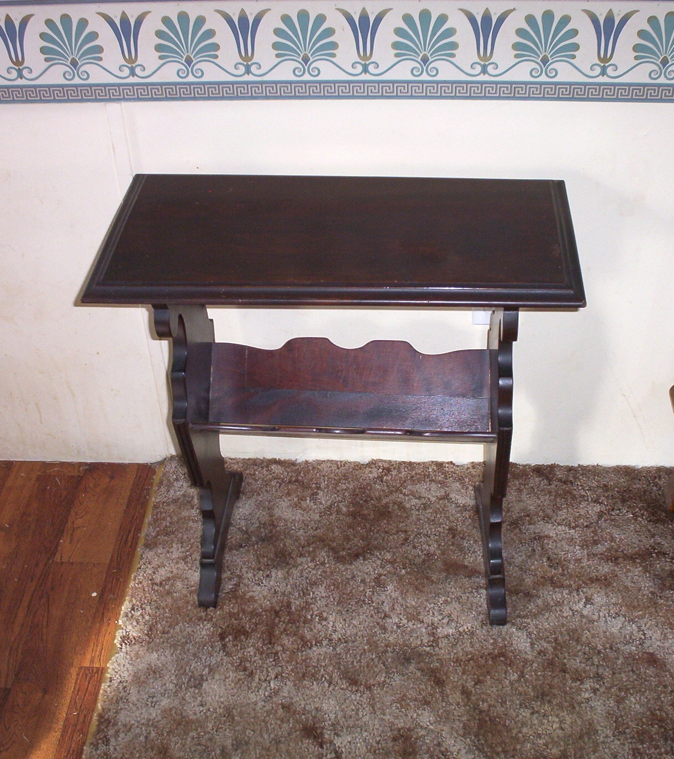Entry Side Night End Table Magazine Holder For Sale