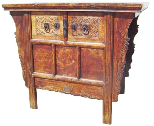 Antique Chinese Butterfly Cabinet. Circa early to mid of 19th century.  Original Wear and Patina. Appraisal for Authenticity will be provided upon  request. - Antique Chinese Butterfly Cabinet For Sale Antiques.com Classifieds