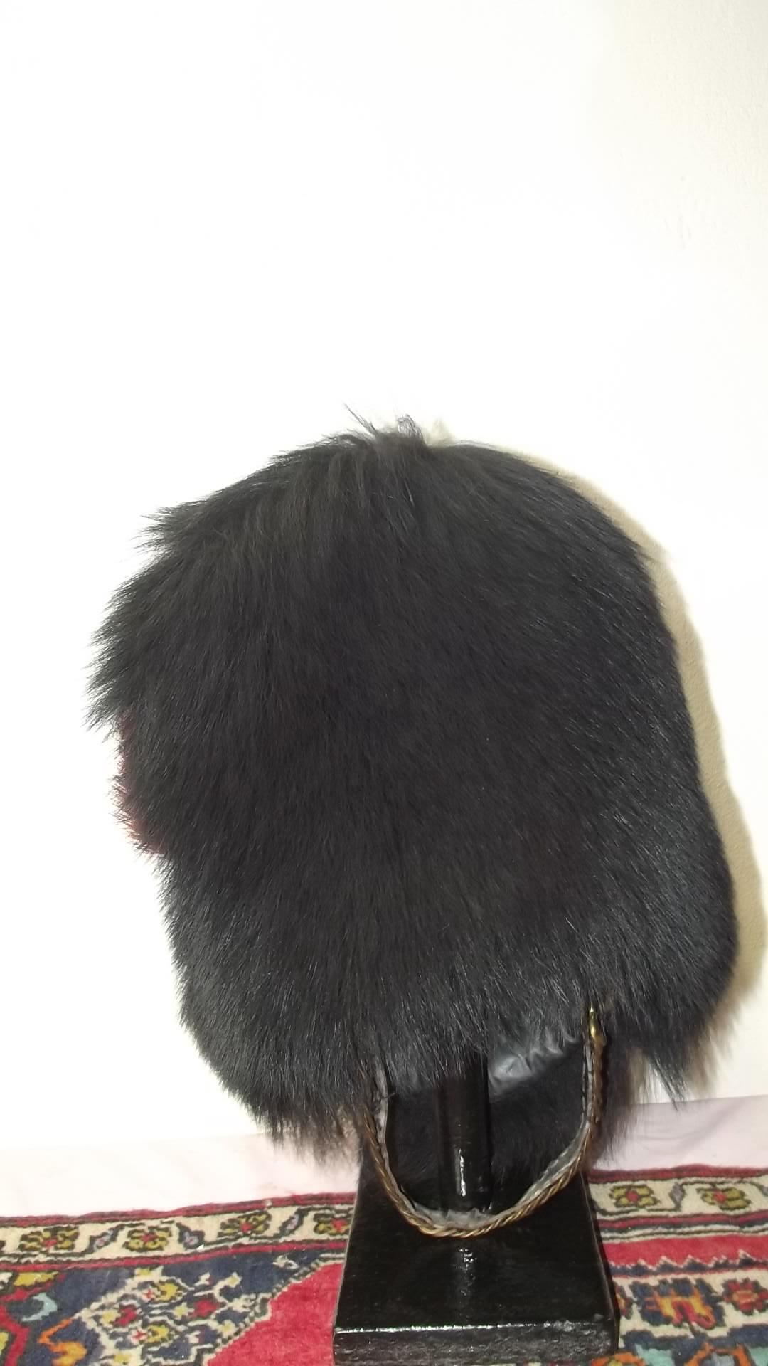 Bear Skin Hat Coldstream Guards Vintage For Sale