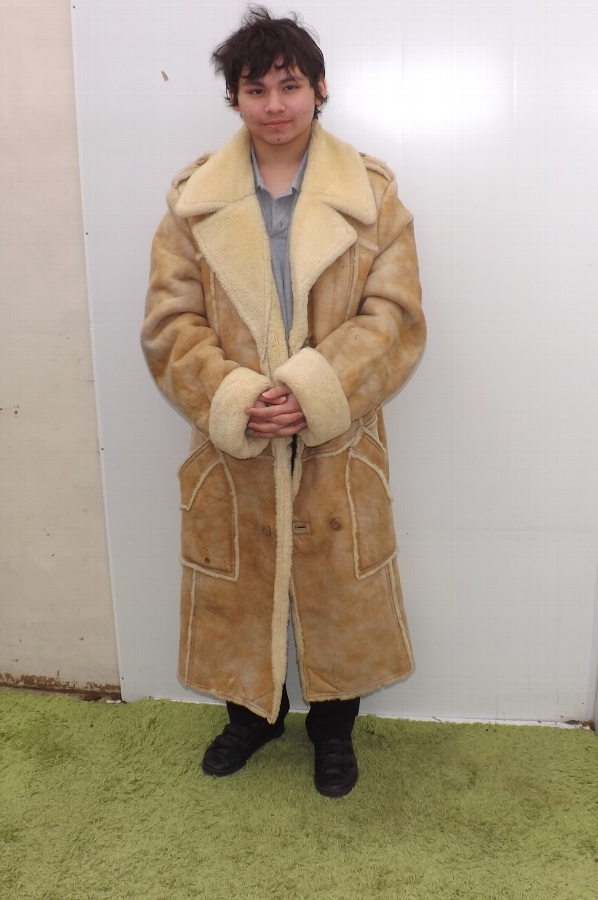 A del boys sheepskin coat For Sale | Antiques.com | Classifieds