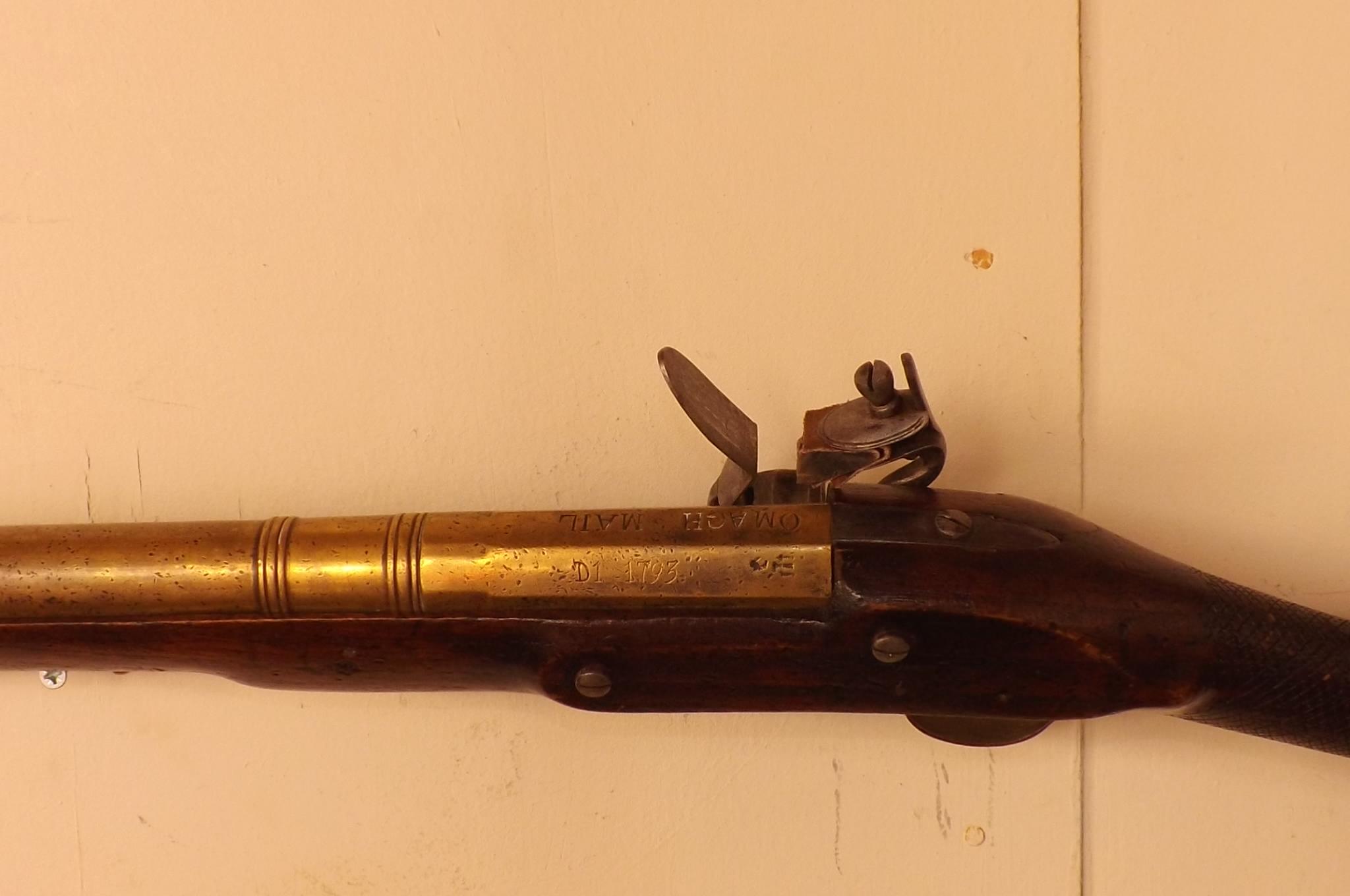 Flintlock blunderbuss coach gun For Sale | Antiques com