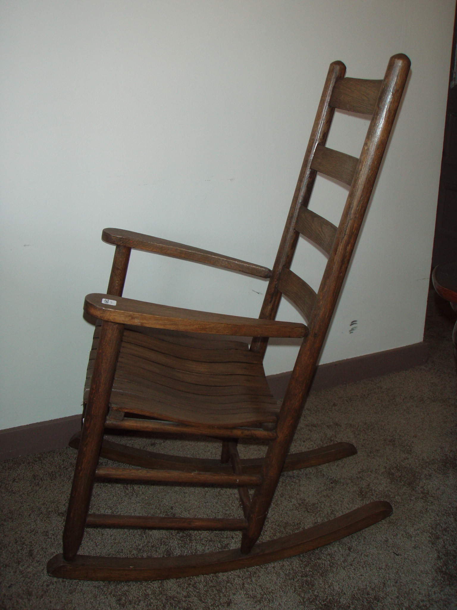 antique slat back rocking chair for sale classifieds. Black Bedroom Furniture Sets. Home Design Ideas
