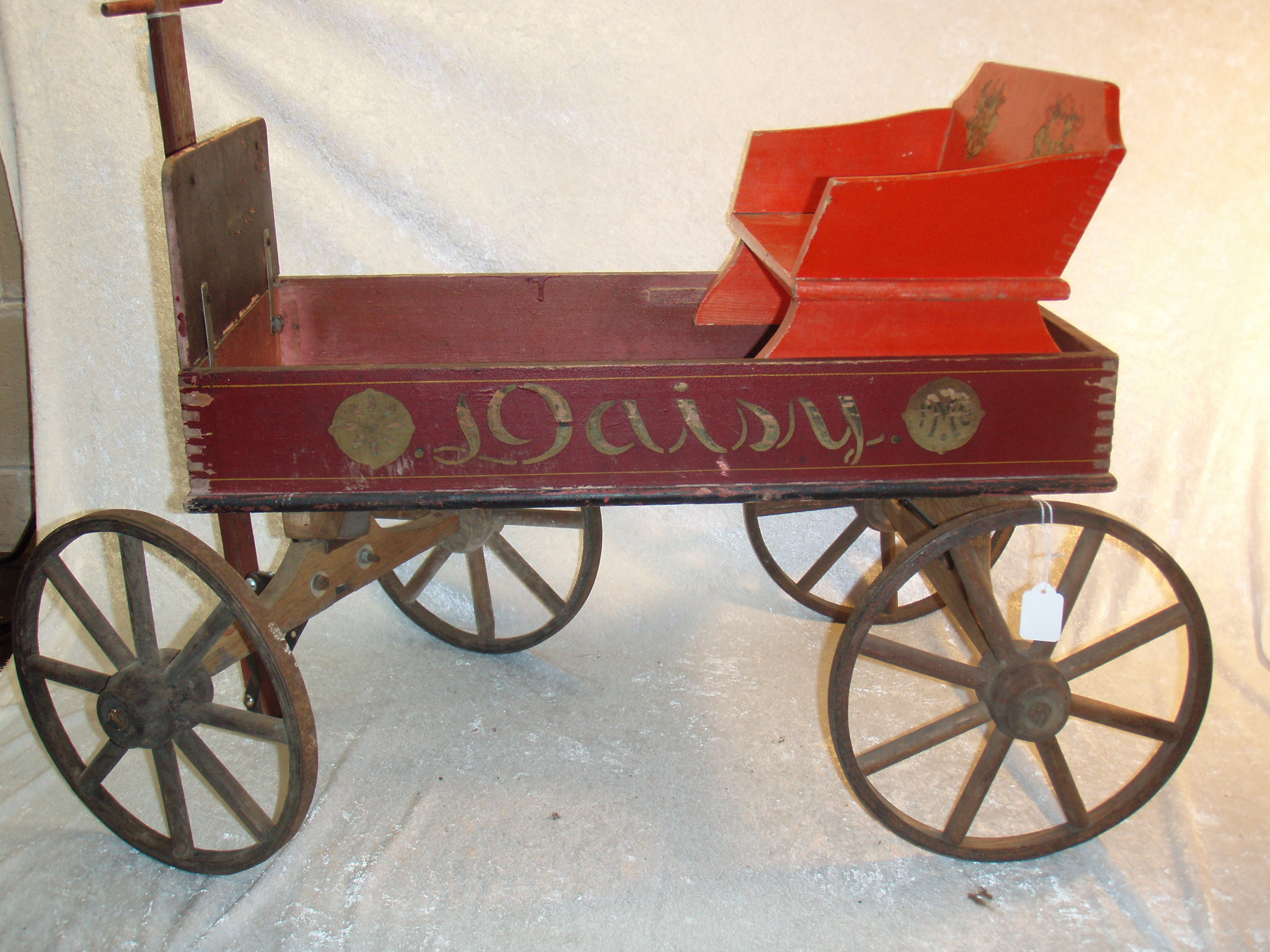 Early Antique South Paris Daisy Wagon For Sale Antiques