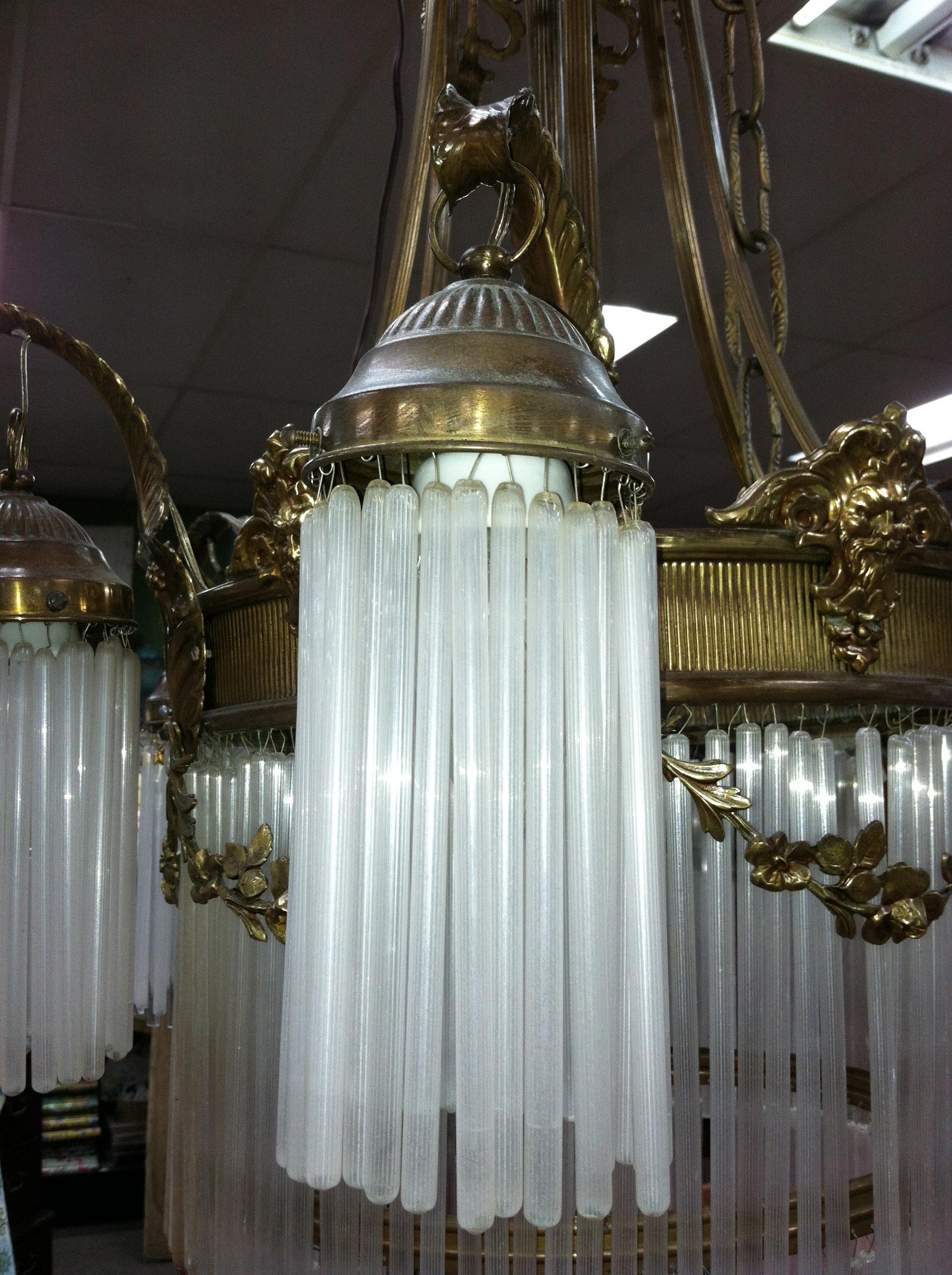 Antique art nouveau chandelier musethecollective antique art nouveau chandelier musethecollective arubaitofo Gallery