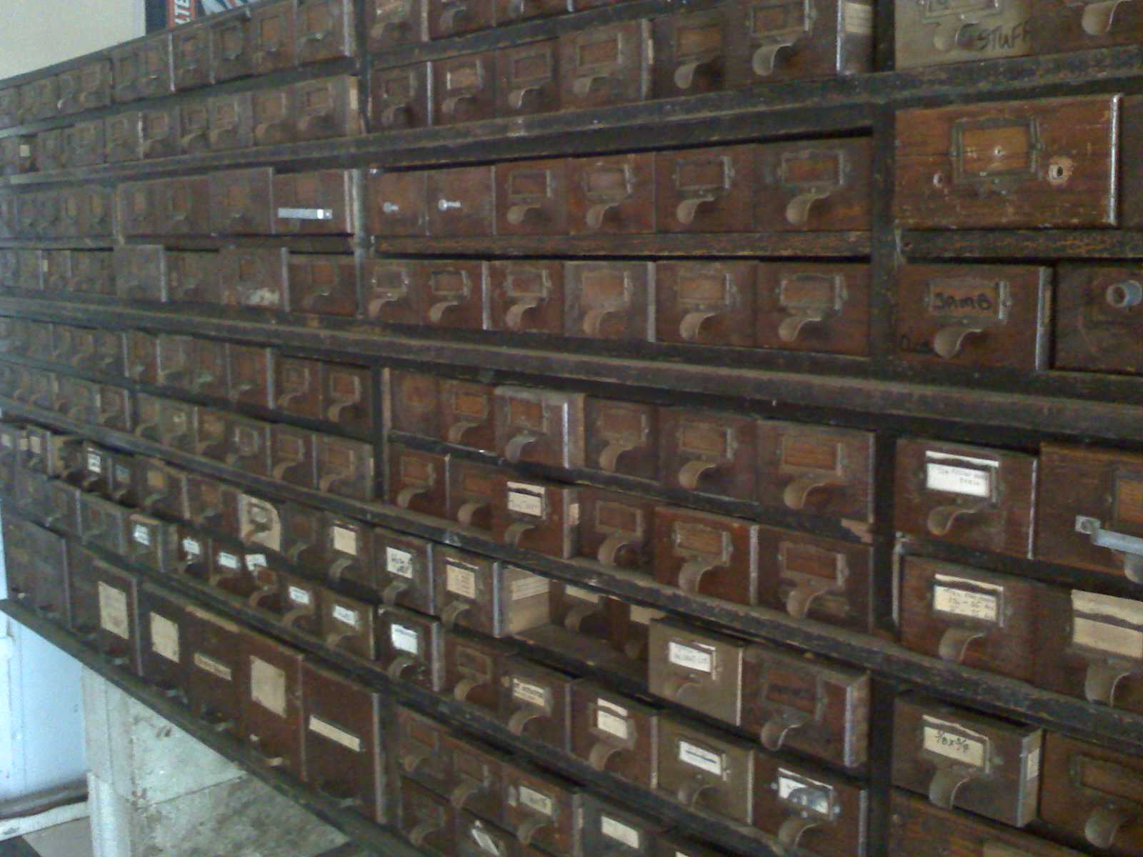 Apothecary - American Bolt and Nut cabinet For Sale | Antiques.com ...