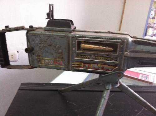 Superb Large Vintage C1950 S 60s Atom Tin Plate Toy