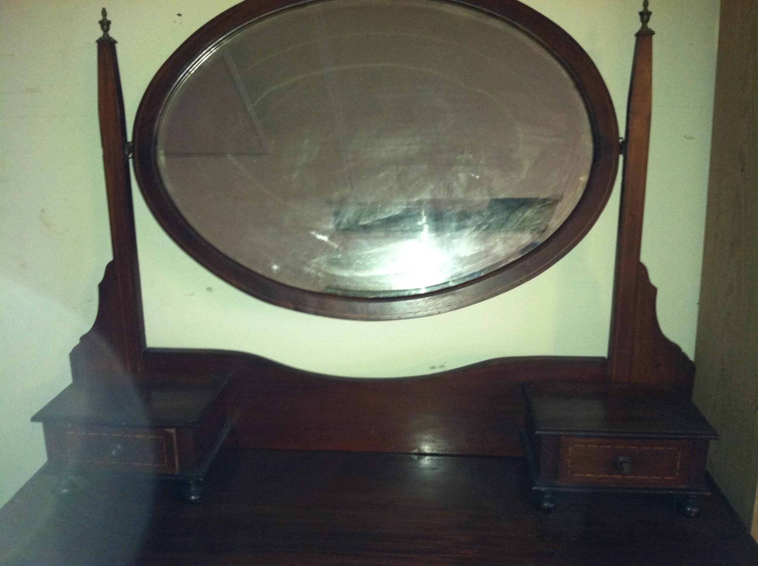 Antique Dresser With Mirror On Wheels Bestdressers 2019