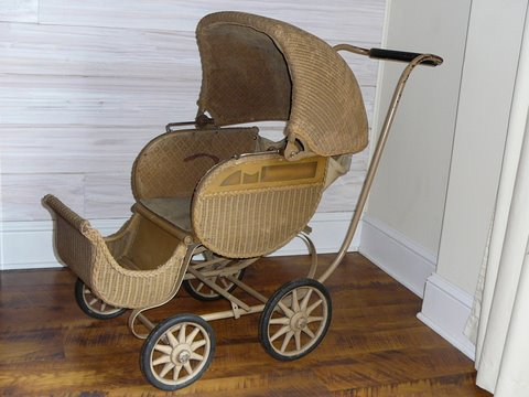 antique baby carriage lookup beforebuying