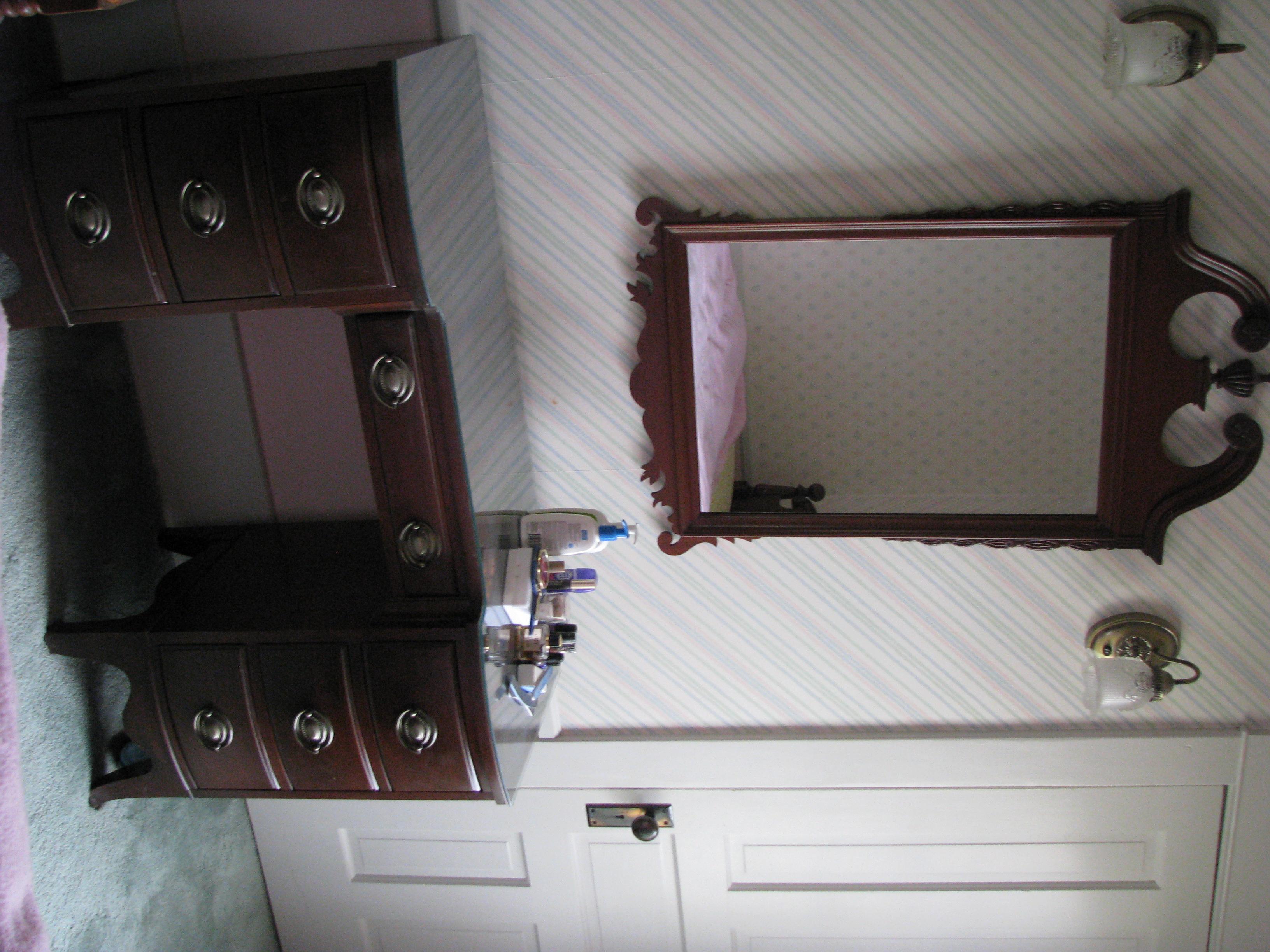 solid mahogany bedroom set for sale   antiques