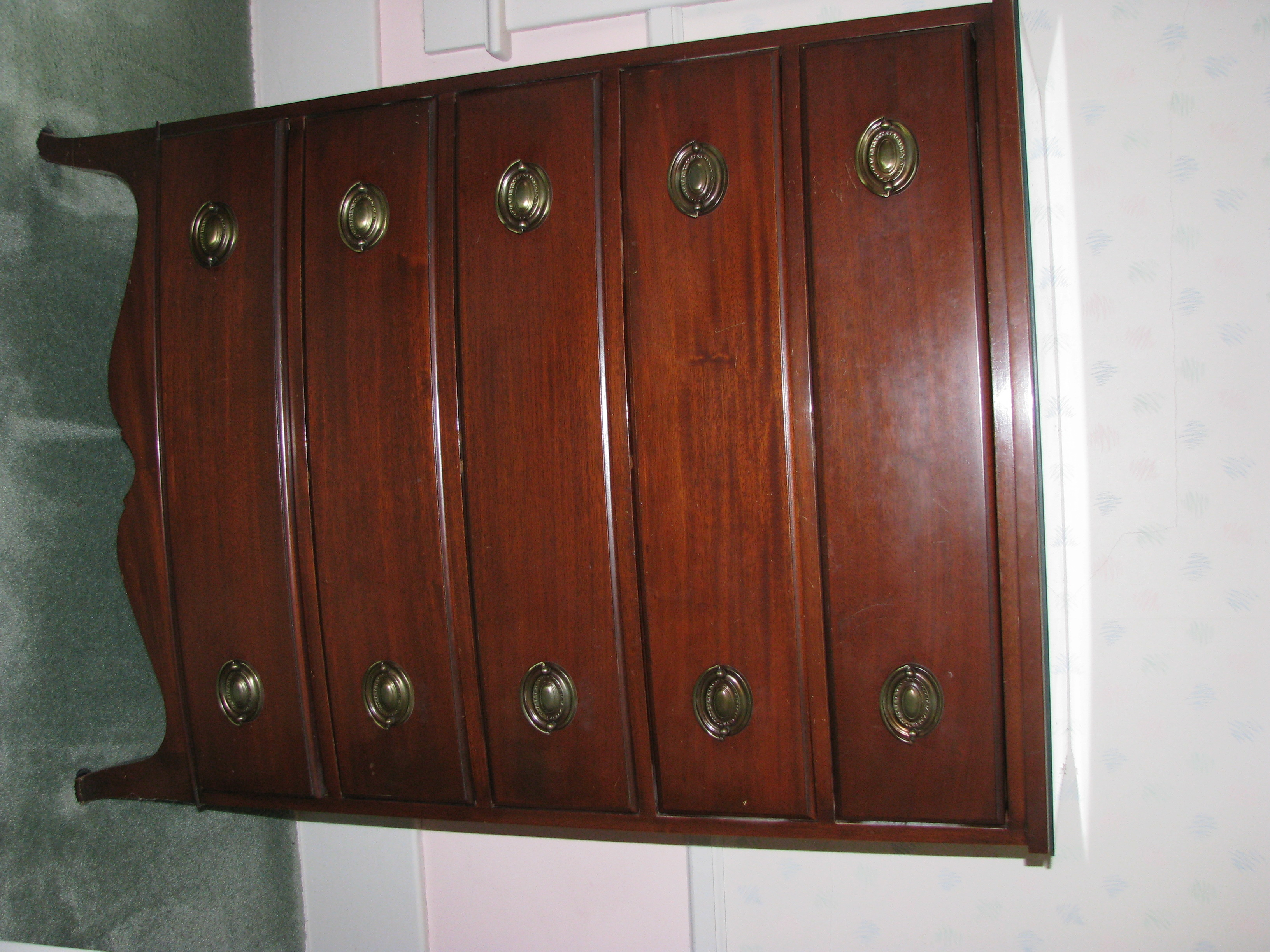 Antique Mahogany Bedroom Furniture For Sale