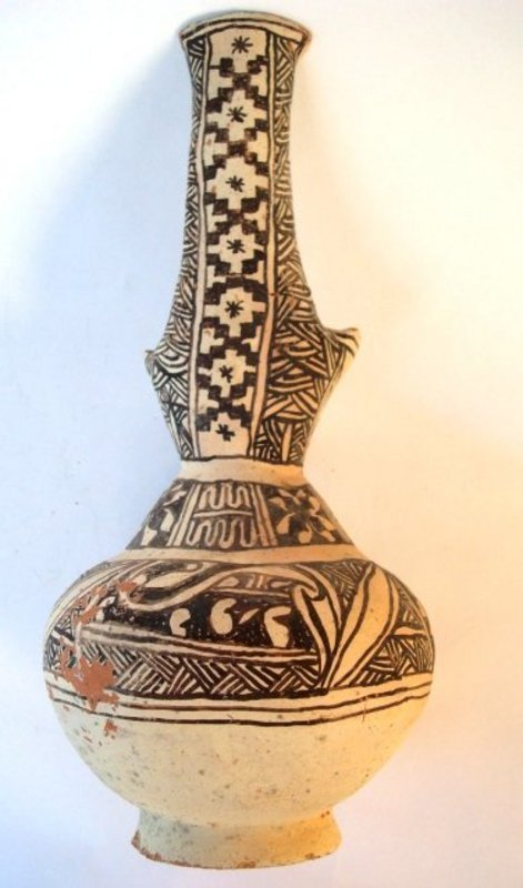 a large islamic unglazed pottery jug for sale antiques com