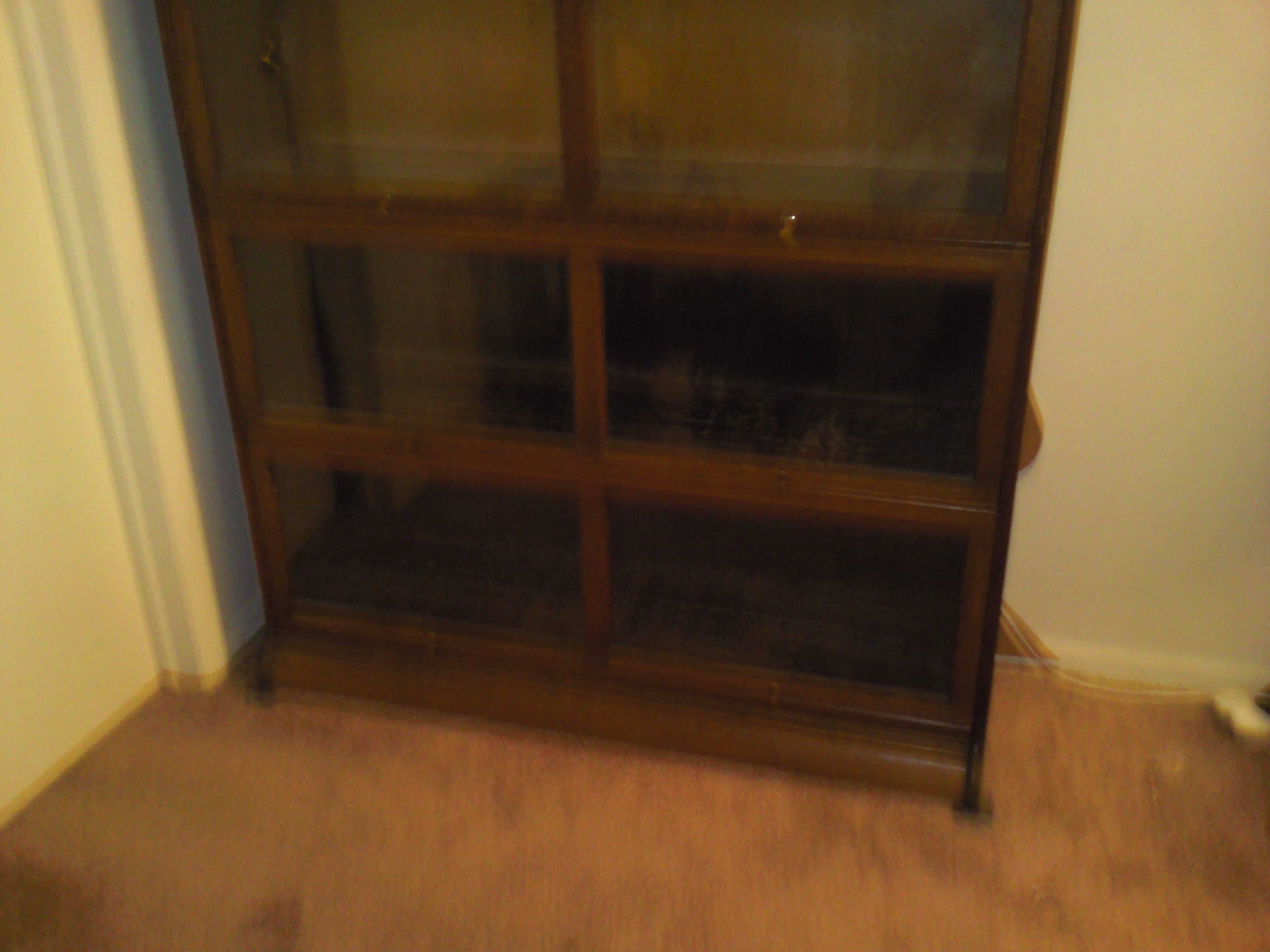 gunn sectional bookcase rare 50 inch wide for sale antiques