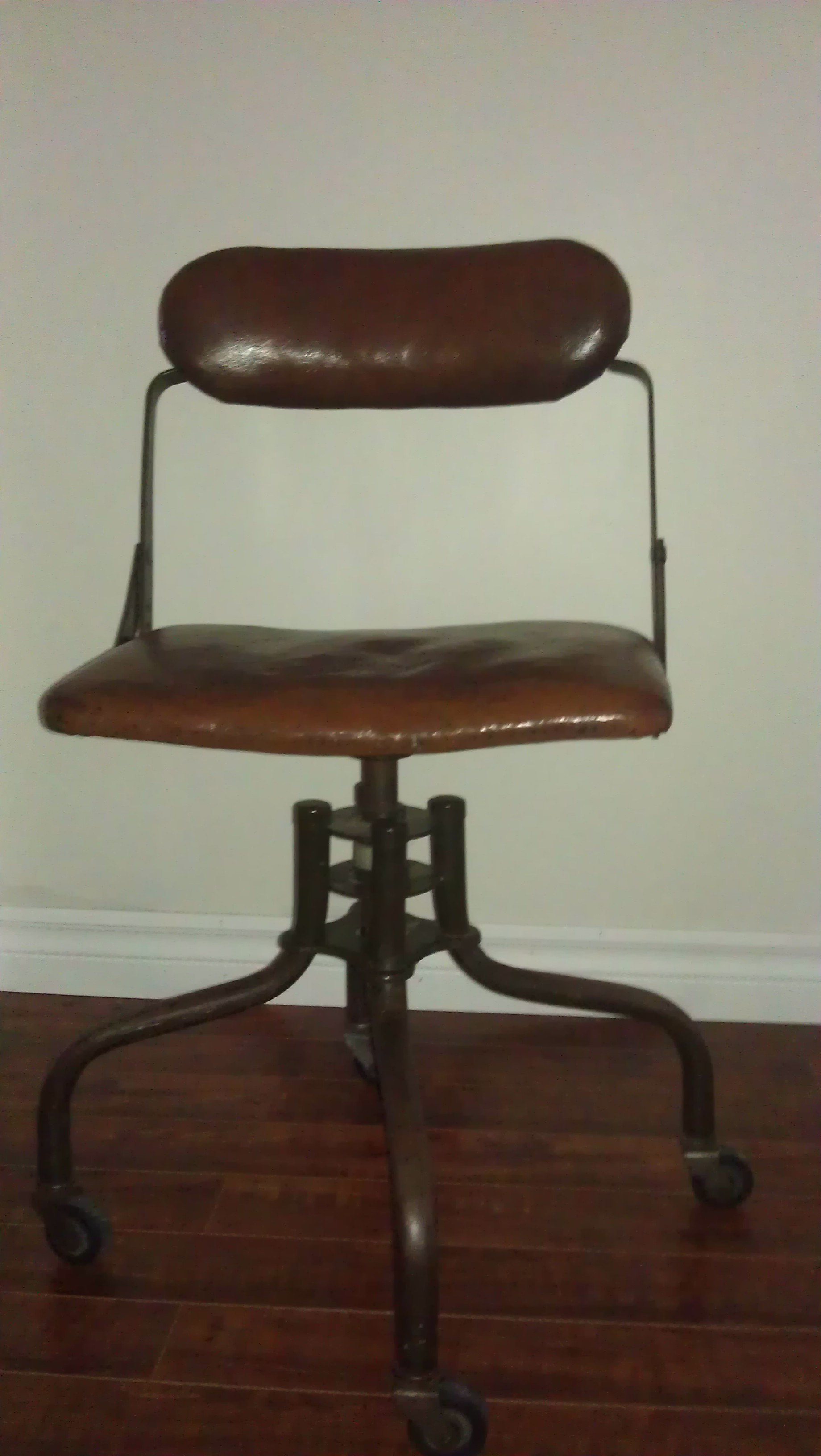1930 s American Industrial fice Chair For Sale