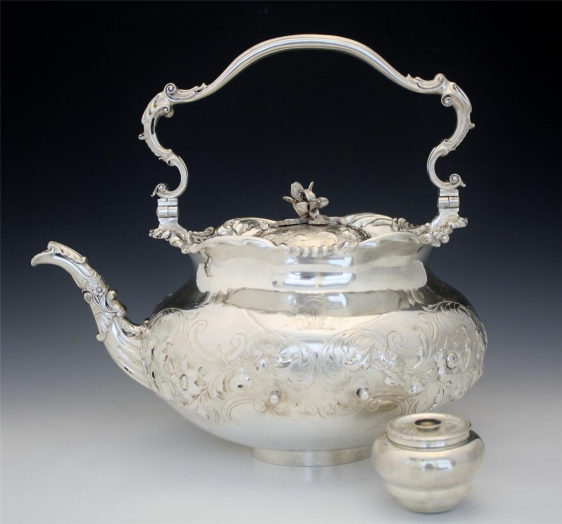 Dated 1793 Storr Mortimer English Sterling Silver Teapot
