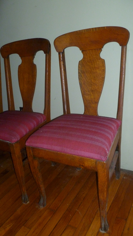 Oak Dining Table Chairs For Sale