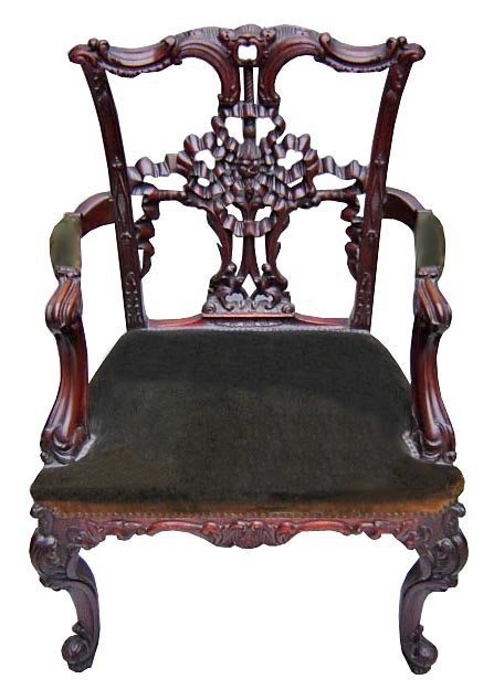 set of 8 antique carved chippendale style dining chairs for sale classifieds. Black Bedroom Furniture Sets. Home Design Ideas