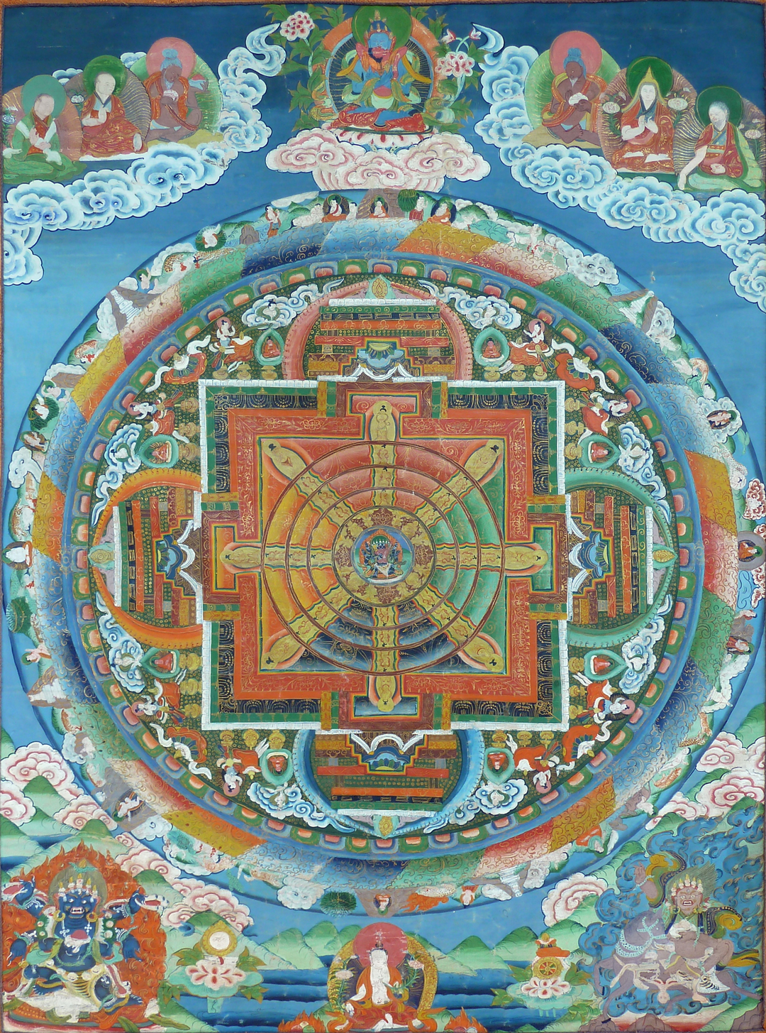 Antique Thangka Paintings For Sale