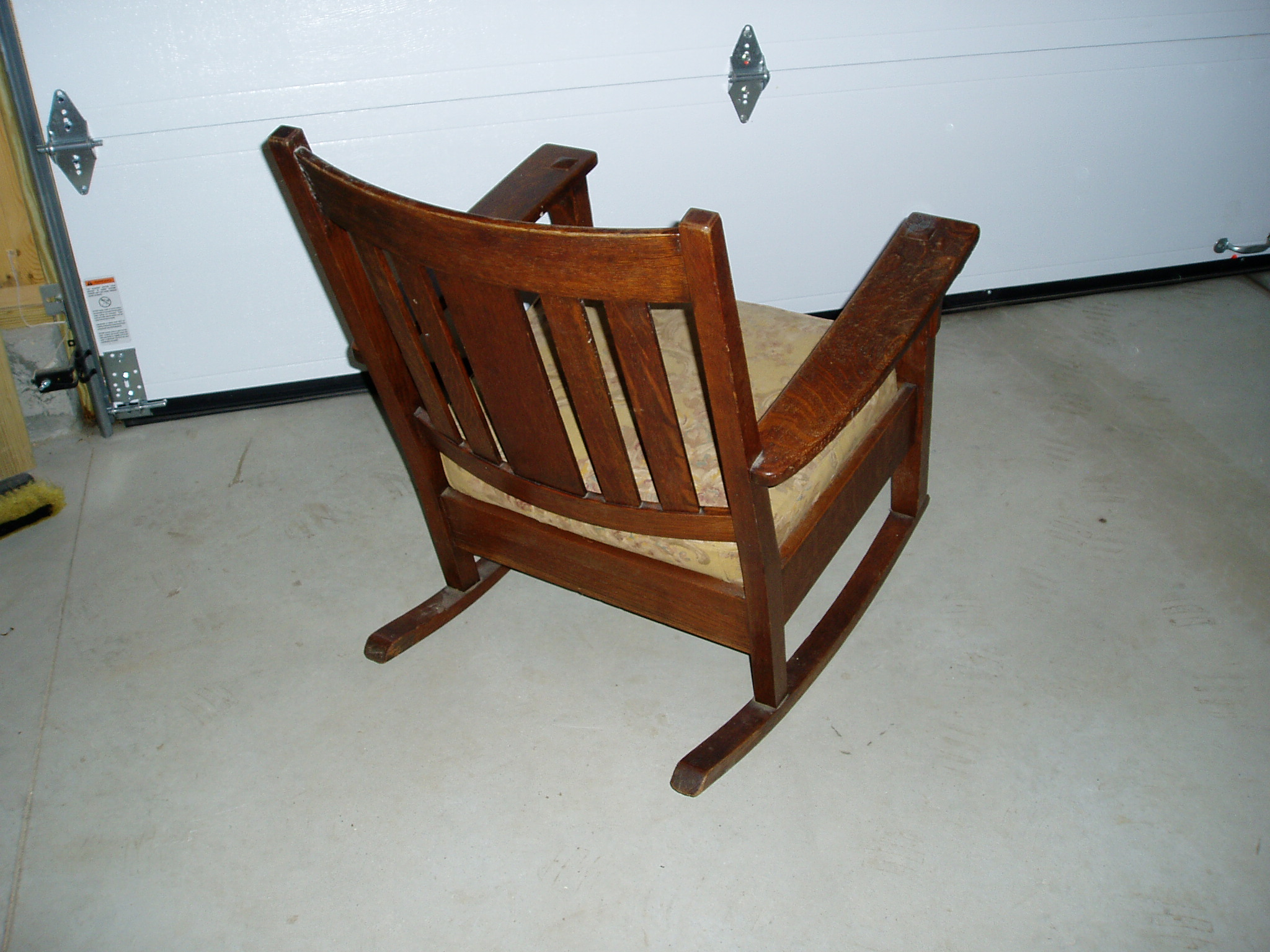 3 mission chairs by limberts art craft for sale antiques