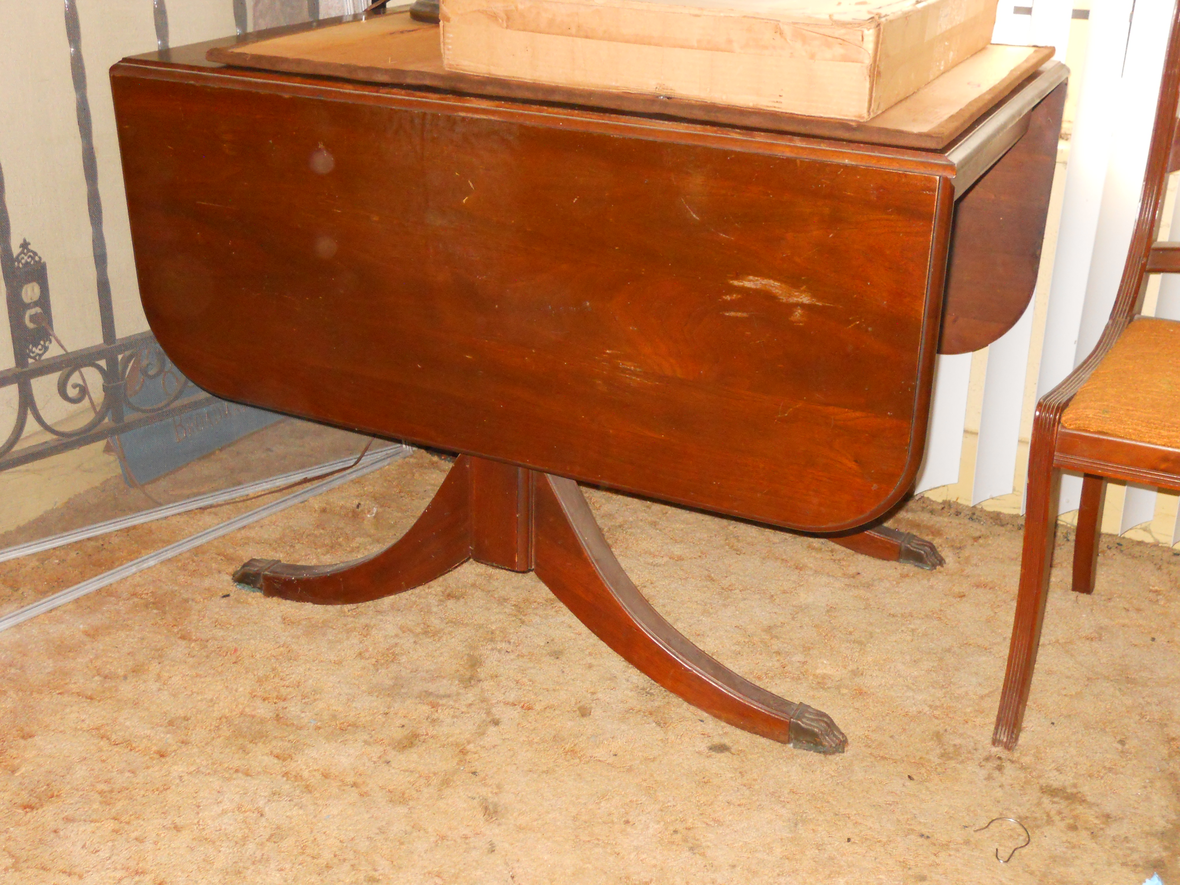 Antique Dining Table And 5 Chairs For Sale Antiques Com