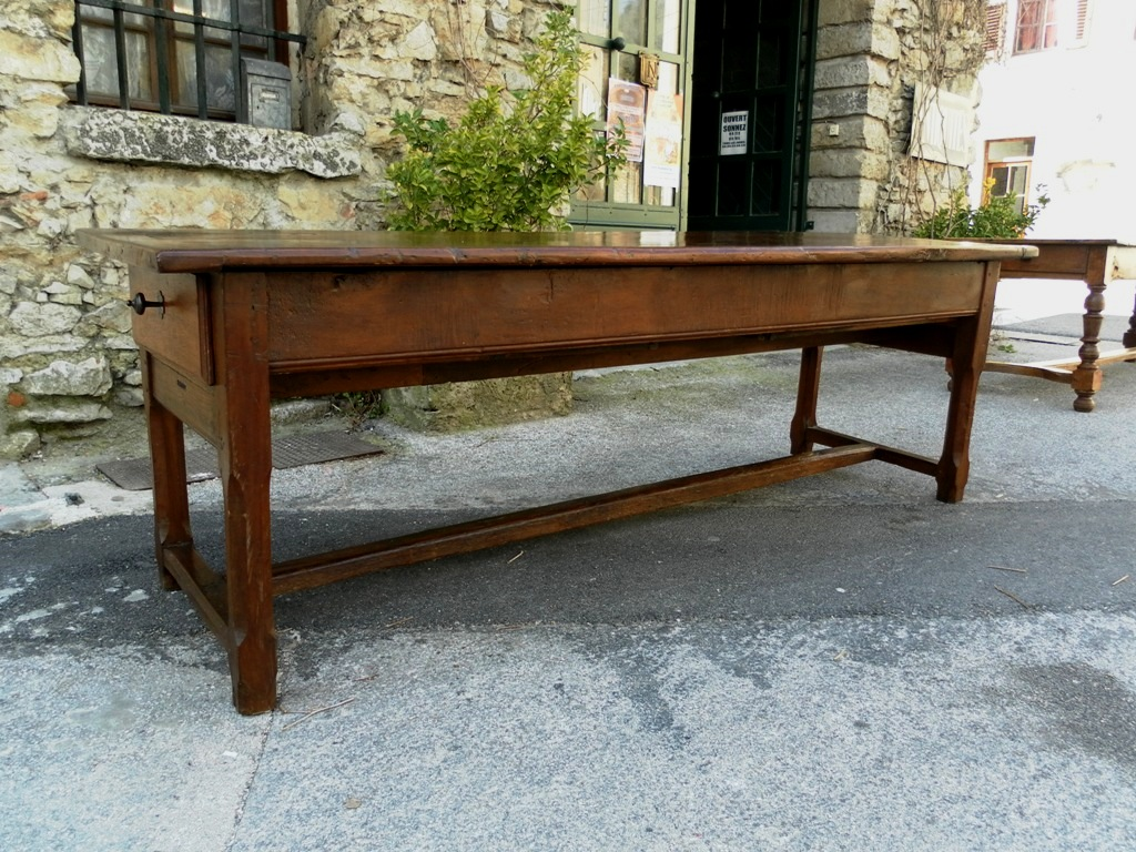 Farm Tables For Sale Part - 37: 18th Century French Farmhouse Table, 98 Inch Length - For Sale
