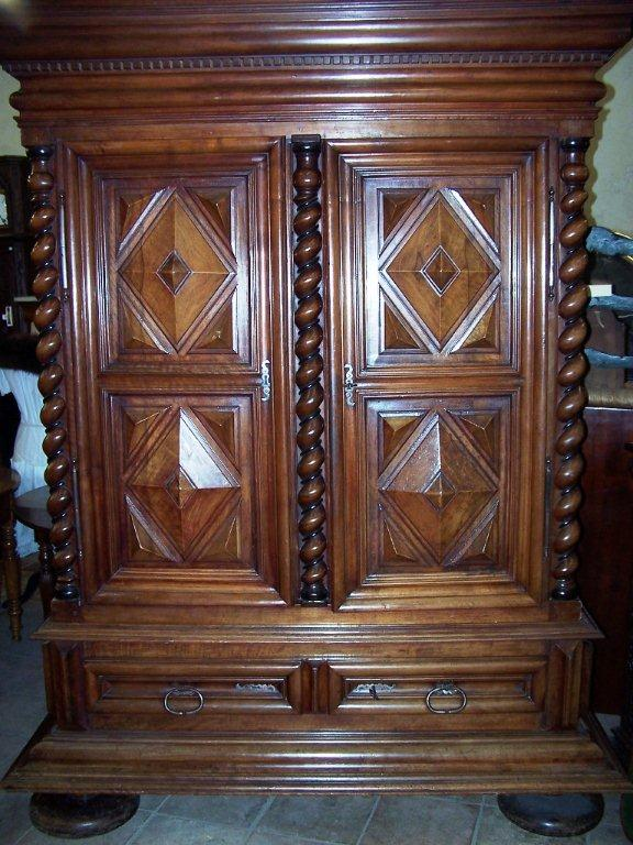 french 17 th century louis xiii period armoire for sale classifieds. Black Bedroom Furniture Sets. Home Design Ideas