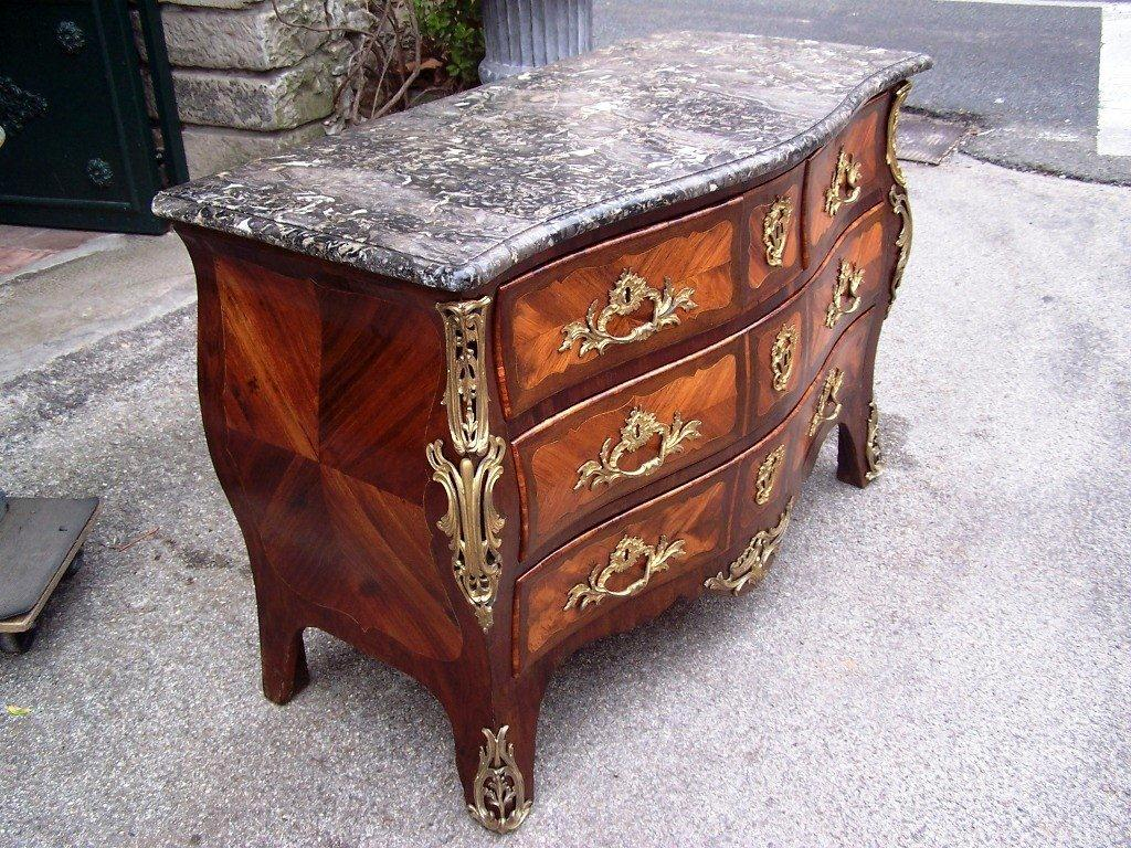 French Louis Xv Period Birckl Chest Of Drawers Or Commode