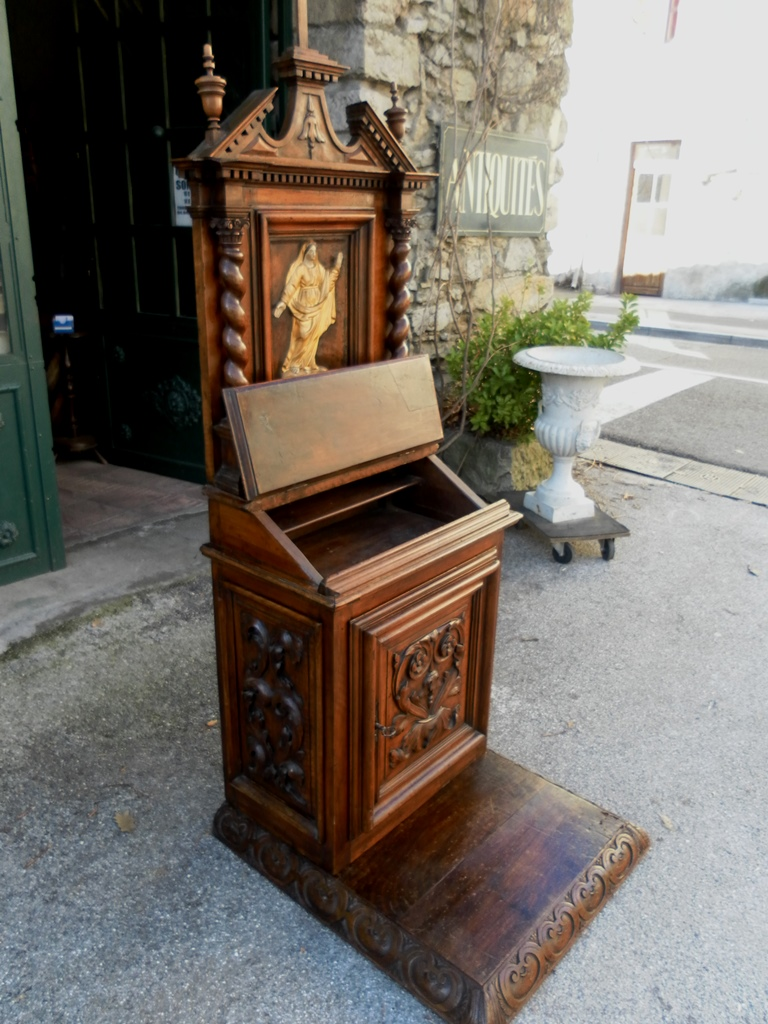 french 18th century prie dieu chapel oratoire for sale classifieds. Black Bedroom Furniture Sets. Home Design Ideas