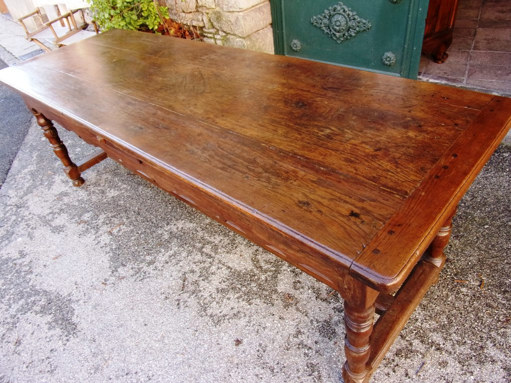 French Farmhouse Table Late XVIIth Century For Sale Classif