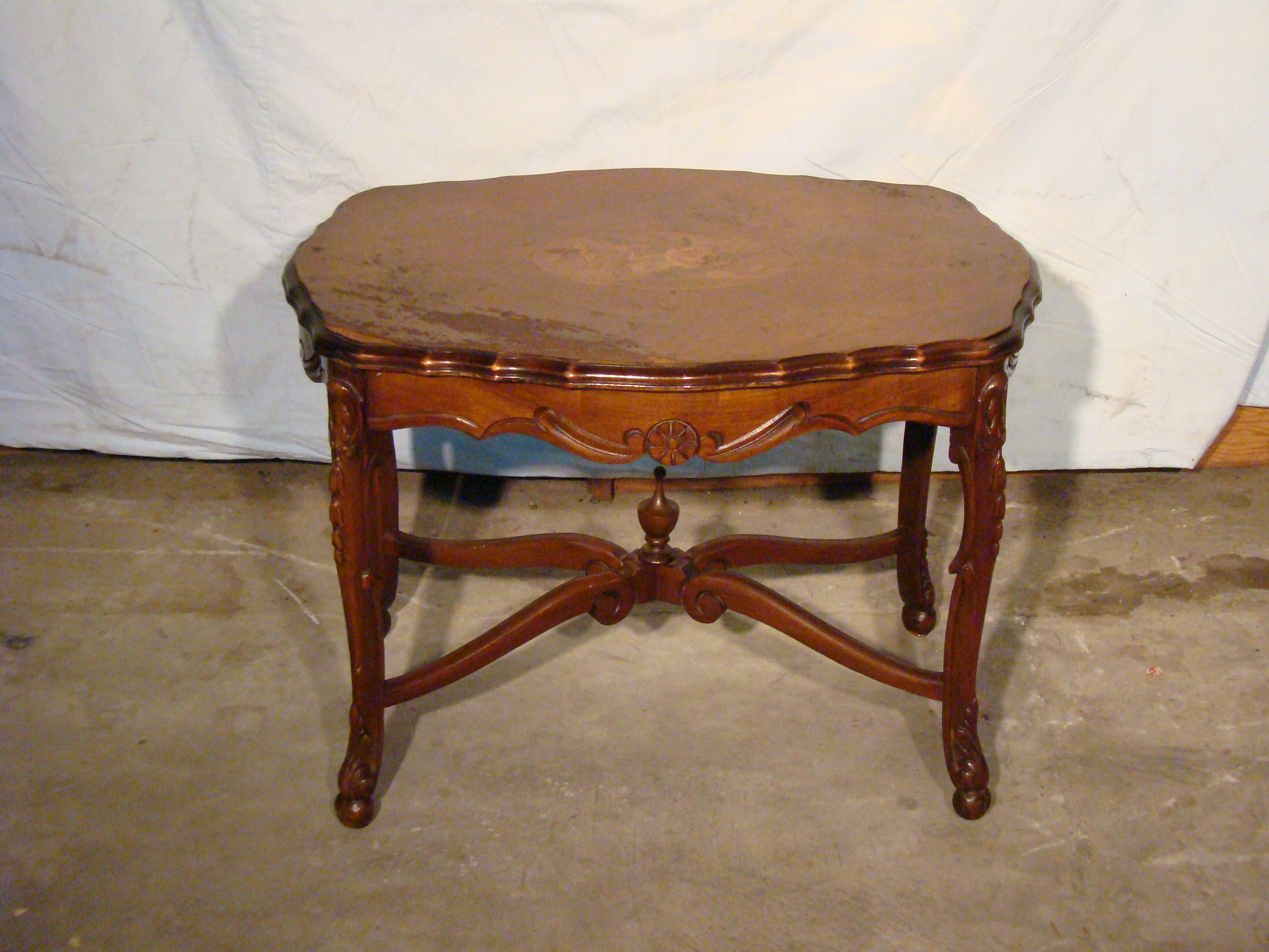 Antique European Coffee Table For Sale Classifieds