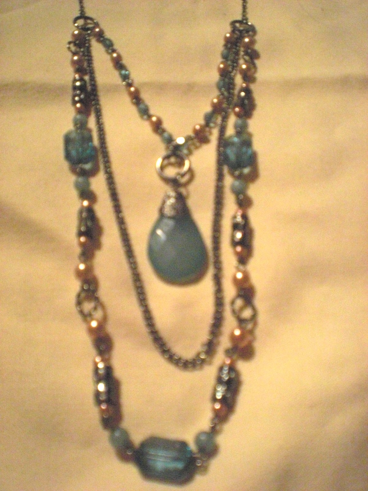 Vintage Costume Necklace For Sale | Antiques.com