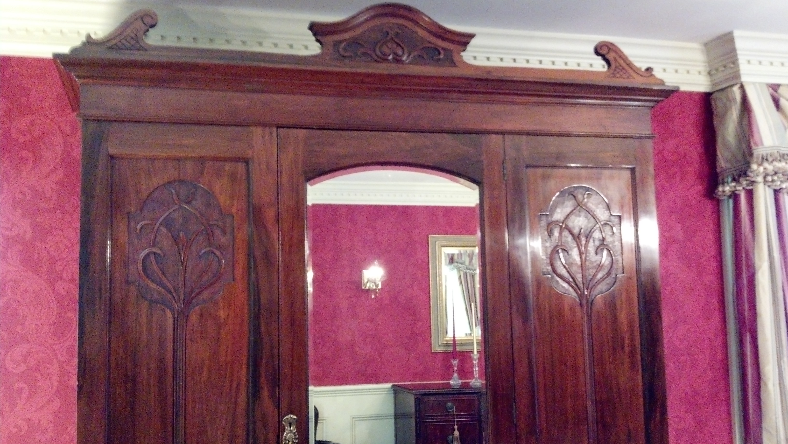 Armoire English Walnut circa 1885 For Sale  Antiquescom