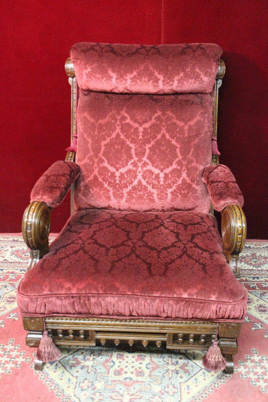 Eastlake Rocking Chair Flocked Velvet Unique For Sale ... | 1000 x 1500 jpeg 300kB