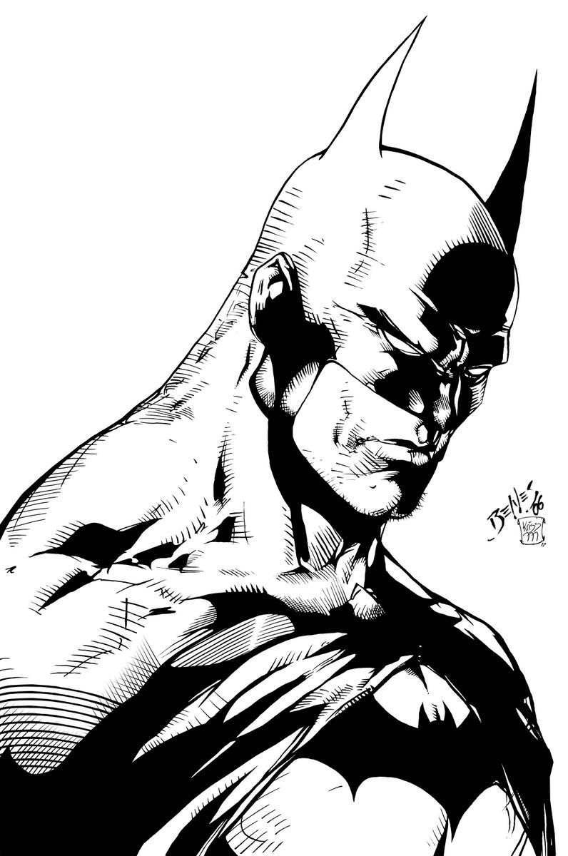 Batman Art Print Batman 11 x 17 Comic Art